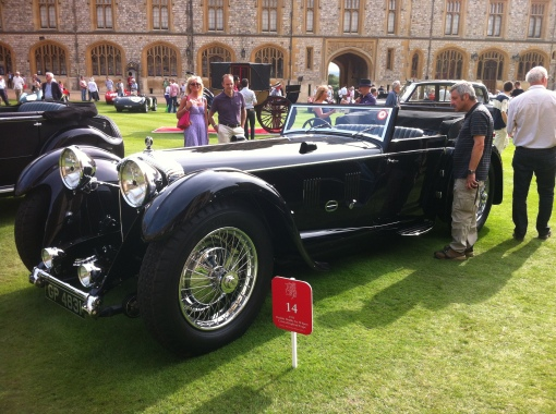 Star of the show for me - fabulous Corsica bodied Daimler Double Six