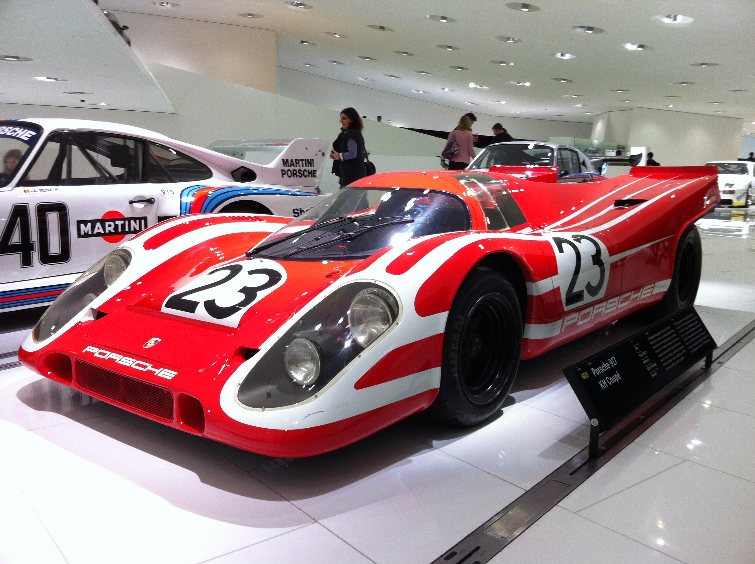 Porsche 917 Morewheelspin