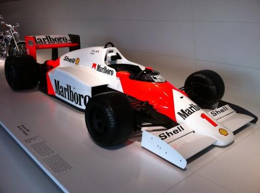 Alain Prost's McLaren Porsche