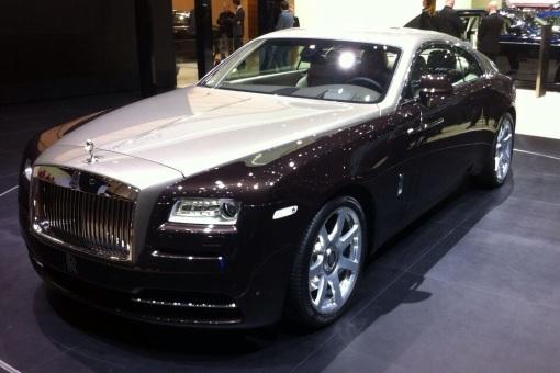 Rolls Royce Wraith, Geneva Motor Show, March 2013