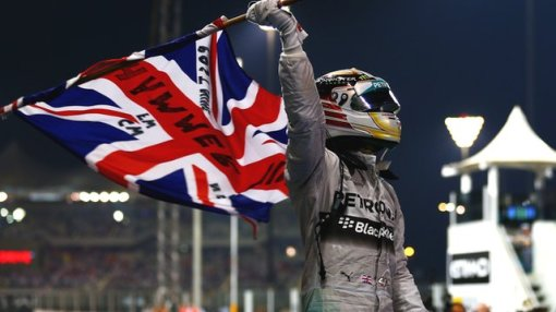 Hammertime! Well done Lewis, Britain's first two time World Champion since Jackie Stewart