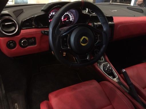 Classy new interior - Lotus Evora 400