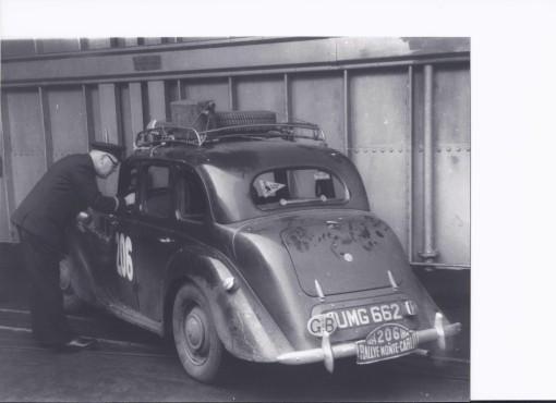 UMG 662 Monte Carlo Rally 1954