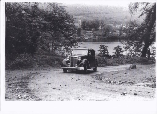 UMG 662 Scottish Rally 1953