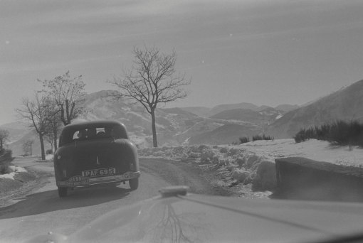 UMG662 Col Leclercs Monte Carlo Rally 1953 (press car)