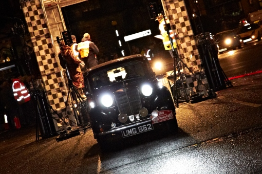 UMG662 - Paisley Start, Monte Carlo Classic Rally 2016